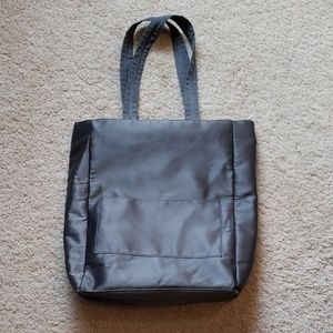 Never used! Bath & Body satin zip up tote/bag